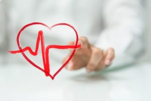 healthy animated heart