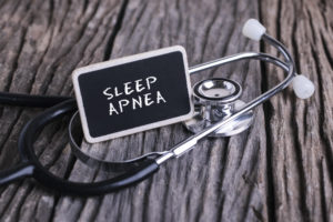 "Sign saying ""Sleep Apnea"""